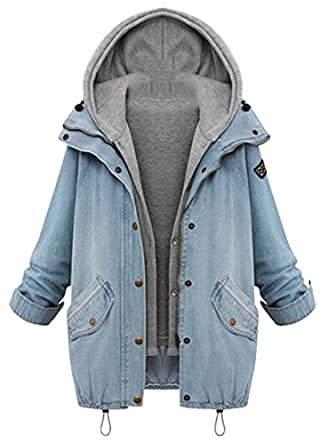 MOUTEN Women Plus Size Hoodie Long Sleeve Fall Winter