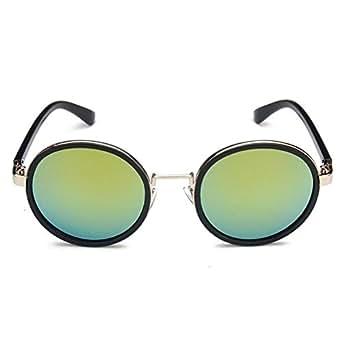EZON-CH Ms. Fan Bingbing With Sunglasses Round Color Film Retro sunglasses 9690 Ladies