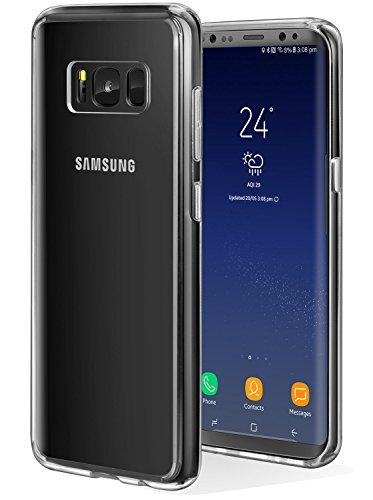 ivencase Funda Samsung Galaxy S8, Samsung S8 Carcasa Silicona TPU de Alta Resistencia y Flexibilidad Protección Shock-...