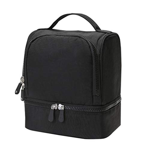 - Fashion Waterproof Insulated Lunch Bag Portable Tote Cool Bag,Suitable For Adults/Men/Women/Children(181420.5cm)
