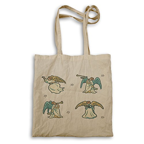 Christmas Christmas bag Tote Angels u617r Angels r8wqYpr
