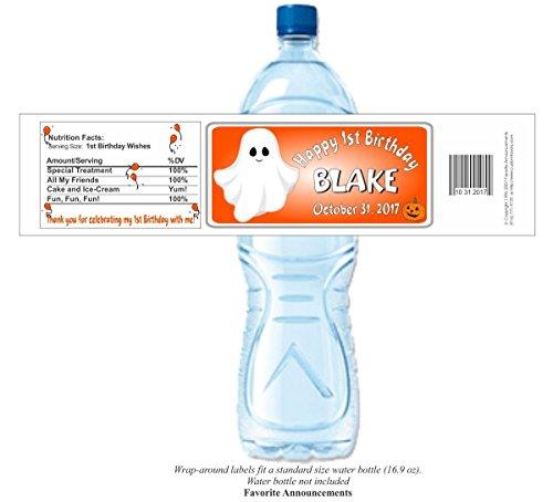 Halloween Water Bottle Labels (set of 24)(YGhBd) -