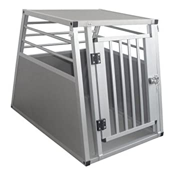 Cool Runners Pro Series Secure Aluminum Dog / Pet Travel/Car Crate, X-Large