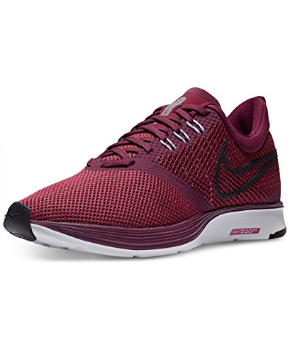 Nike Womens Zoom Strike Scarpe Da Corsa Bordeaux / Black Rush Maroon Wht