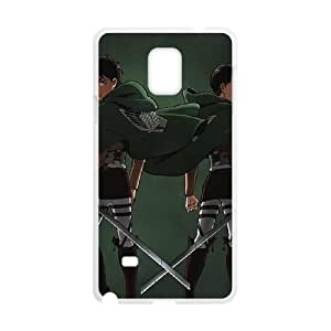 Attack On Titan Logo Samsung Galaxy Note 4 Cell Phone Case White Phone Accessories VG_992925