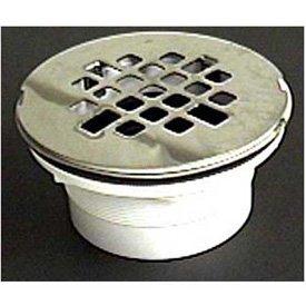 Wal Rich 0523030 2u0026quot; PVC Shower Drain, Jiffy Joint Connection   Pkg Qty