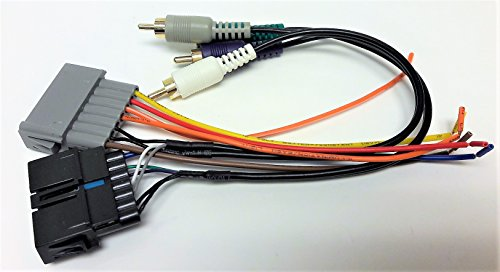 Premium system Wire harness for Installing a new radio into a Dodge, Ram Pickup, 1984, 1985, 1986, 1987, 1988, 1989, 1990, 1991, 1992, 1993, 1994, 1995, 1996, 1997, 1998, 1999, 2000, 2001, (Wire Amp Harness Dodge Ram)