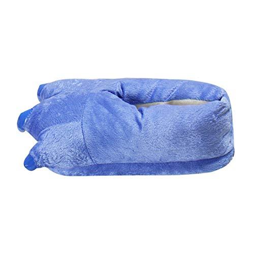 De La Griffe Drôle Hiver Chausson Femmes Femme Patte Chaussures Bleu Chaud Maison Pantoufle Chaussons Peluche Animaux Pour Intérieur Zezkt 7wpxSfI