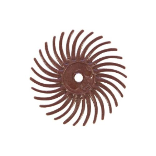 EURO TOOL Radial Disc, Red, 3/4 Inch, 220g, Pack Of 12 | BRS-580.50
