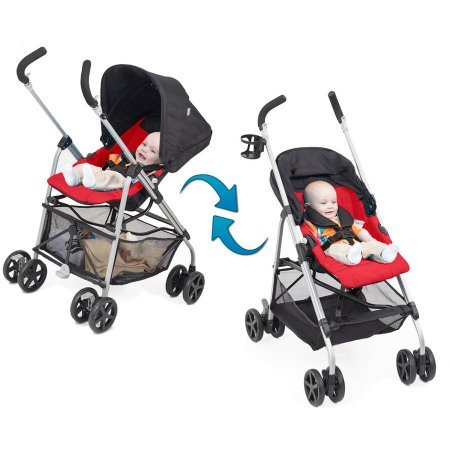 Great Features Of Urbini Reversi Stroller, Red
