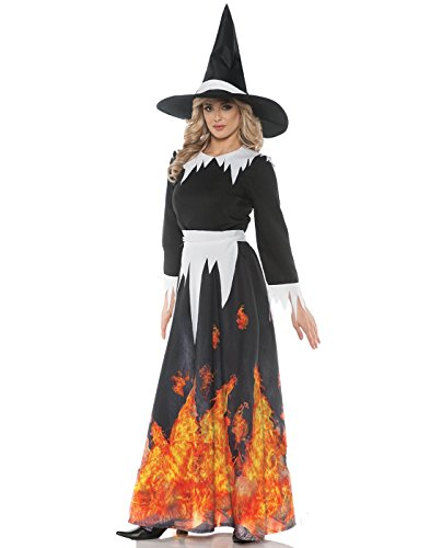 Underwraps Women's Gothic Storybook Evil Queen Ball Gown - X-Large]()