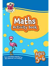 New Maths Activity Book for Ages 5-6 (Year 1): perfect for learning at home
