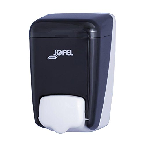 Jofel AC84000 Soap Dispenser, Refillable, Charcoal Colour, 0.4 L