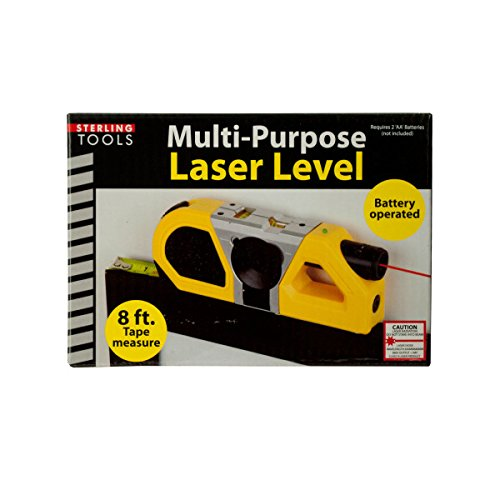 60%OFF Kole GW323 Multi-Purpose Laser Level with Suction Mount