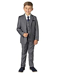 Paisley of London, Sampson Slim Fit Occasion Suit, Boys Formal Prom Set, X-Large - 20