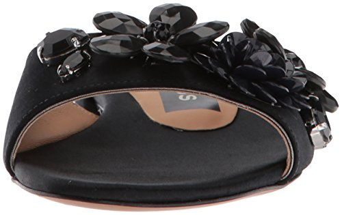 Pantuflas Mujeres Marc Abierta Punta Jacobs M9002083 Casual Black Talla waST4HFq