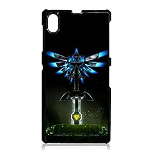 Durable Legend Of Zelda Phone Case Cover For sony?xperia?Z1 Legend Of Zelda Fashionable