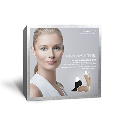 Iluminage Beauty Deluxe Anti-Ageing Set with Patented Copper Technology size XS/S by Iluminage Beauty