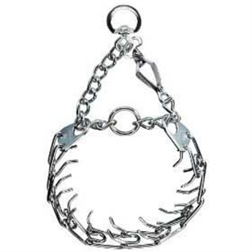 Pet Supply Imports Herm Sprenger Chrome Plated Training Collar with Quick Release Snap for Dogs, Medium, 3.0mm, 21-Inch