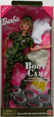 Boot Camp Barbie #26586 (1999 Edition) by Mattel ()