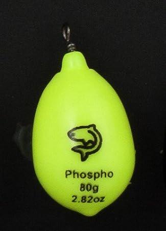 Plomos & # x152; UF Plastificado Lemer amarillo fosforescente) 100 gr