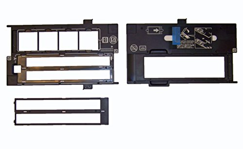 Epson Perfection V600 - BUNDLE - 35mm Negative Holder , Slide Holder & 120, 220, 620 Holder - Film Guide