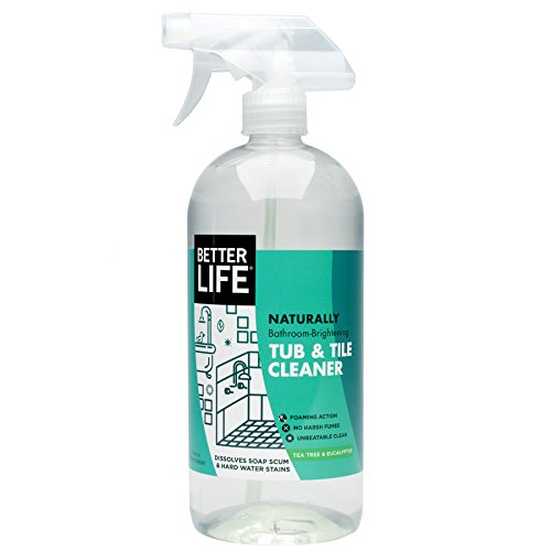 Better Life Natural Tub and Tile Cleaner,