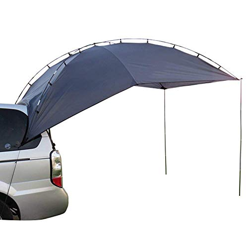 LARRY SHELL Car Tent, Summer Outdoor Car Side Account Tents Tailgate Canopy Anti-uv Tents, Waterproof, Portable, for Beach, SUV, MPV, Hatchback, Minivan, Sedan