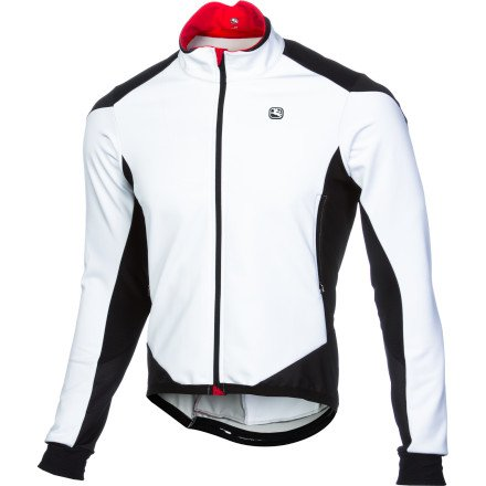 Giordana FormaRed Carbon Men's Jacket White/Black, S by Giordana