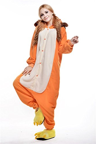 Bettertime Lion Onesie Adults Sleepwear Pajamas Adult Unisex Halloween Costume (Cute Girl Halloween Costume)