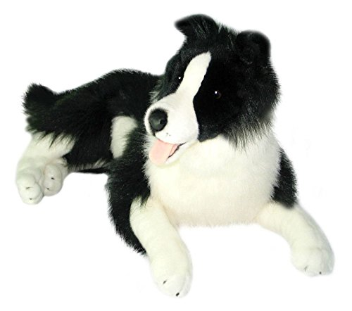 Bocchetta Plush Toys Border Collie Oscar Extra Large Soft Plush Toy Large Black/White ()