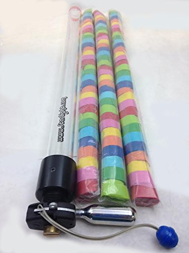 Large Confetti Cannon Free Streamers product image