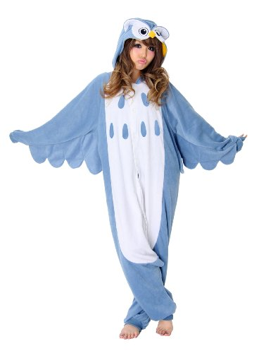 Owl Kigurumi – Adult Halloween Costumes Pajama (One