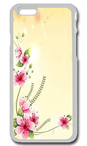 Beautiful Flowers Illustration Personalized Custom iPhone 6 Case Cover - PC Transparent by Maris's Diaryby Maris's Diary