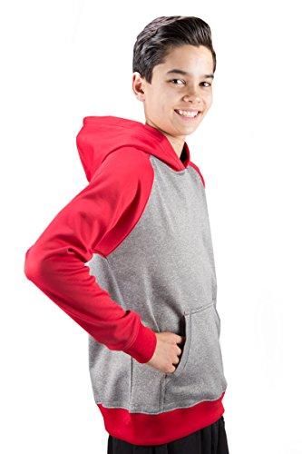 Covalent Activewear Youth Ringer - Ringer Hood