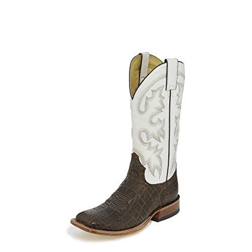 Tony Lama Sealy Brown 13 Altezza (tl3001)   Piede Cioccolato Marrone Vaca   Stivali Western Pullon   Stivale In Pelle Da Cowboy