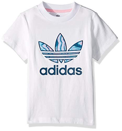 - adidas Originals Baby Marble Trefoil Tee, Black, 3T