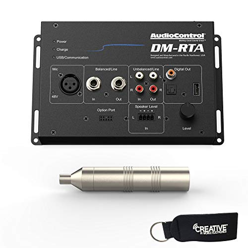 - AudioControl DM-RTA with CM-10 Microphone - Real Time Analyzer and Multi-Test Tool