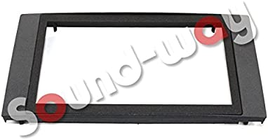 Black Double Din Fascia Adaptateur Panel Surround pour Ford Fiesta 2005 To 2008 Mk7