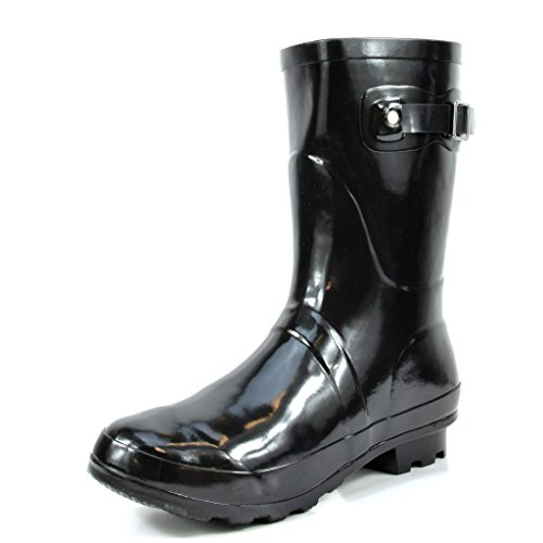 Gloss Rainboots Black Women's Rubber Snow arctiv8 Short Winter Origin 8SSPwY