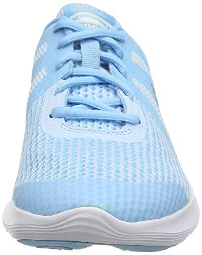 4 cobalt De Femme gs Nike Tint Chaussures Running metallic Compétition Silver Multicolore Chill Revolution 402 blue TcCC5ygq