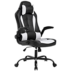 This chairs slick racing design is like no other. Whether it is used in your office or for Gaming, this chair features bucket seats, and a higher back rest for extra comfort. It is made out of PU leather which makes this chair easy to clean o...