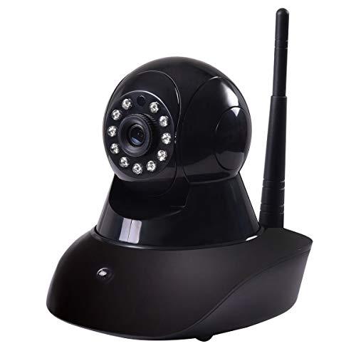720P Wireless Wifi HD Webcam IR Security Camera Surveillance Night Vision Black by Apontus (Image #4)