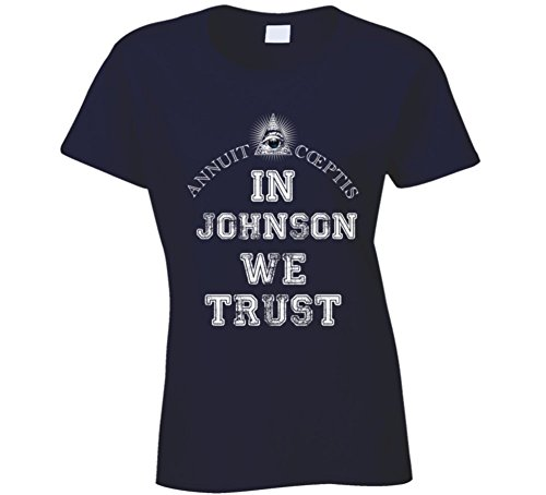 In Ashleigh Johnson We Trust 2016 Olympics Water Polo Ladies T Shirt 2XL - Olympics Polo In
