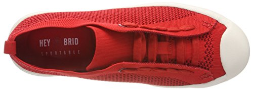 5102030 Rot heybrid Baskets Femme Rouge Sneaker vgvXqAR