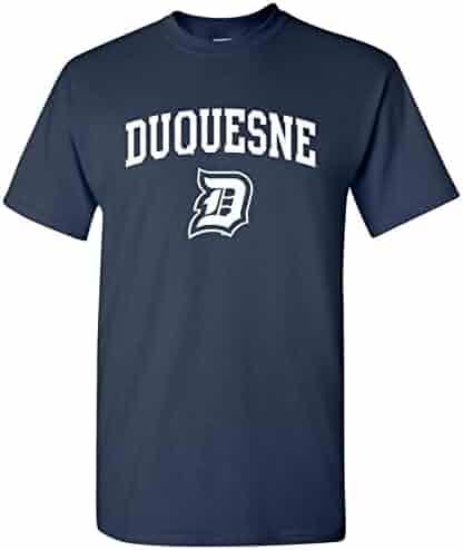 UGP Campus Apparel NCAA Arch Logo, Team Color T Shirt, College, University