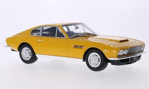 Aston Martin Dbs V8 Yellow Rhd 1970 Model Car Ready Made Gt Spirit 1 18 Amazon De Spielzeug