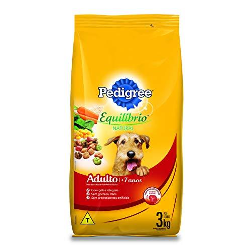 Ração Pedigree Equilíbrio Natural para Cães Adultos Sênior 7+ Anos 3kg