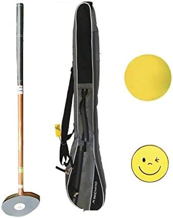 NICHIYO ニチヨー グラウンドゴルフ 入門用4点セット メンズ用セット(ブラウン, 85)