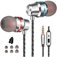 Earbuds Ear Buds Earphones with Microphone Mic Wired...